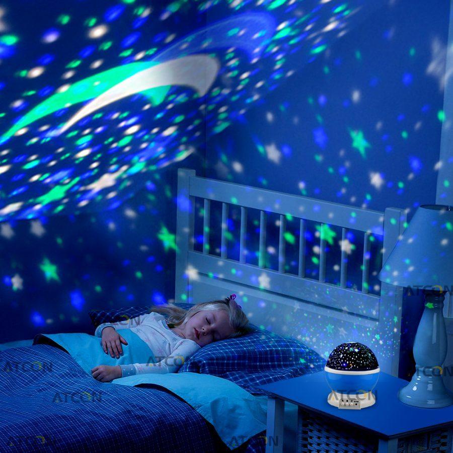 Лампа за нощно осветление – Звезден прожектор