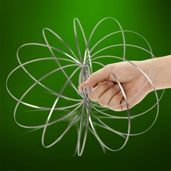 Забавна кинетична спирала Magic rings