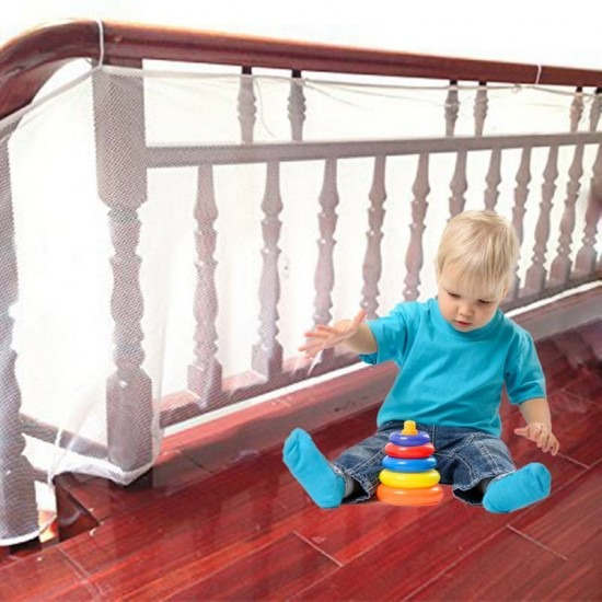Предпазна мрежа за балкони и парапети за малки деца