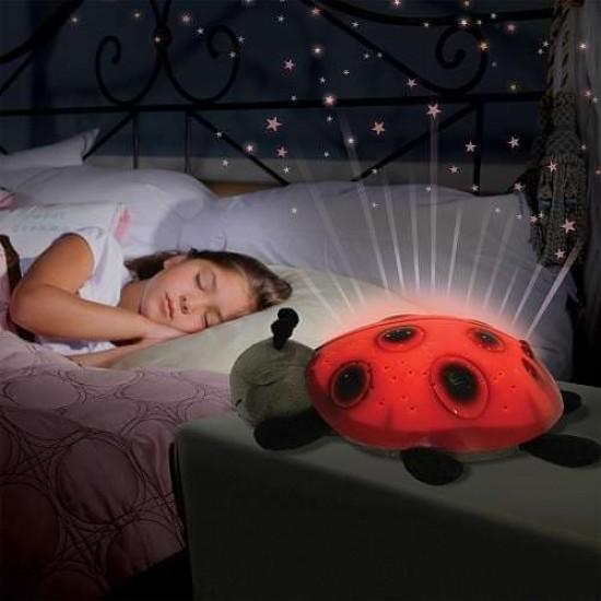 Детска нощна лампа калинка