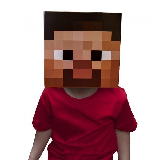 Minecraft-главата на Steve