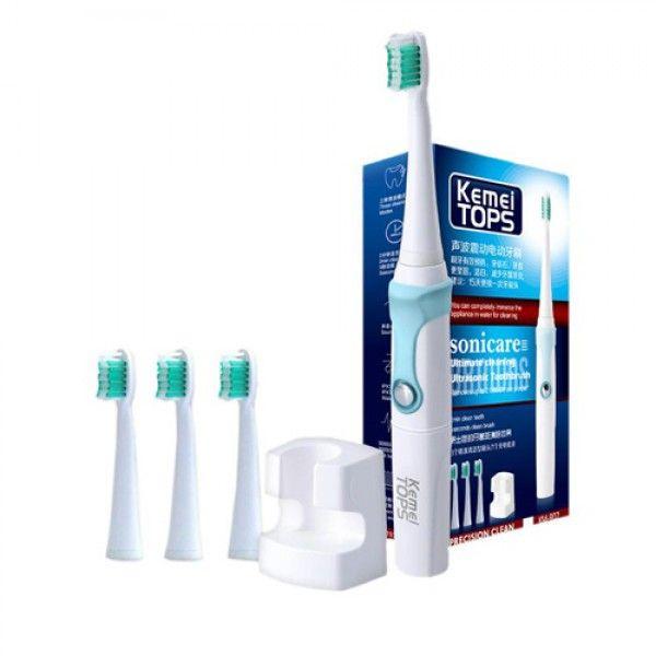 Електрическа четка за зъби с 4 глави Kemei Tops